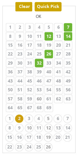 powerball-online - number picker image